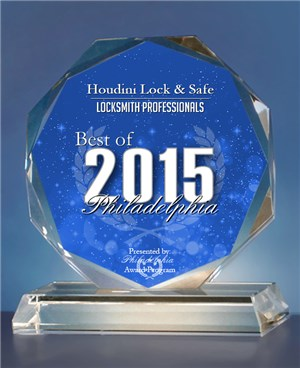 Philadelphia Locksmith Award